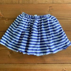 BABYGAP Striped Layered Circle Skirt Size 4T